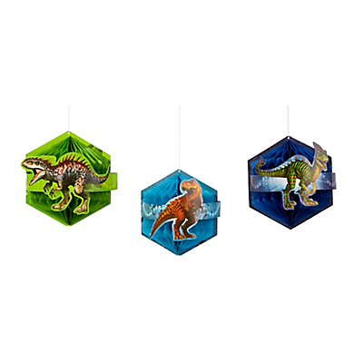 Jurassic World Honeycomb Balls Haning Decorations
