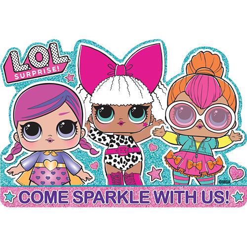 L.O.L. Surprise! Invite