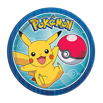 Pokemon Core Dessert Plates 8ct