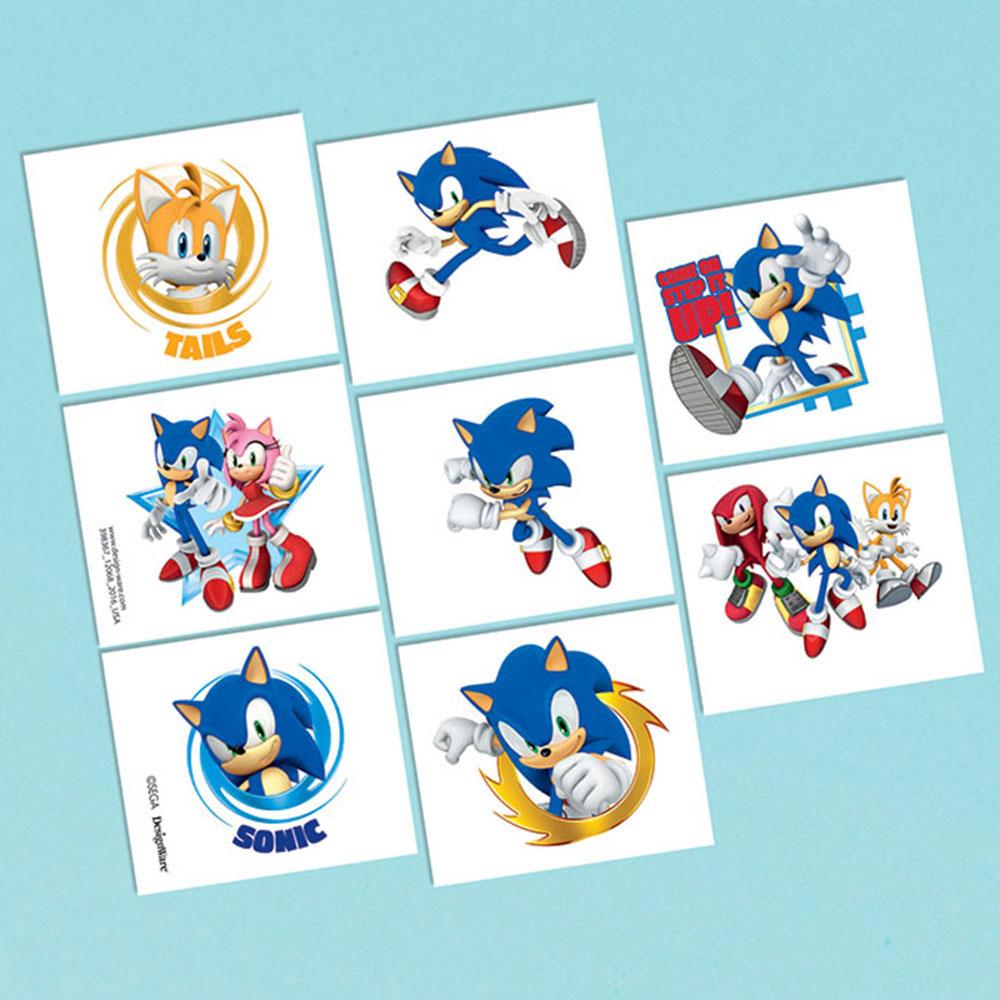 Sonic Tattoos