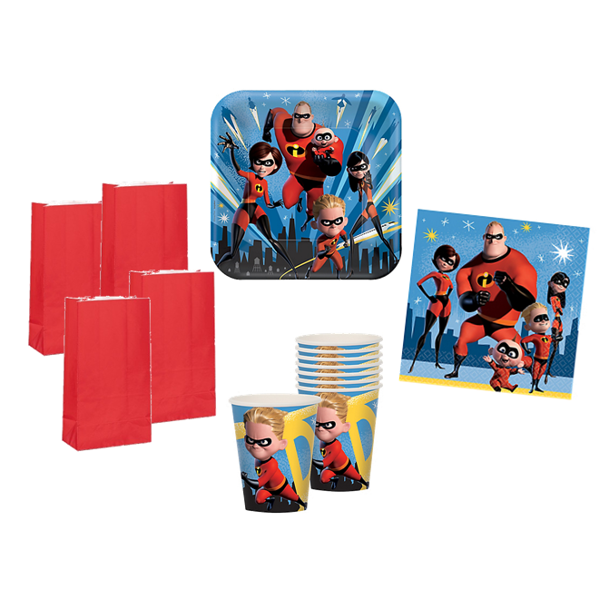 Incredibles 2 Party Pack