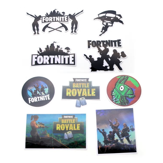 Fortnite Favor Stickers