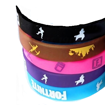 Fortnite Rubber Wristband Bracelets
