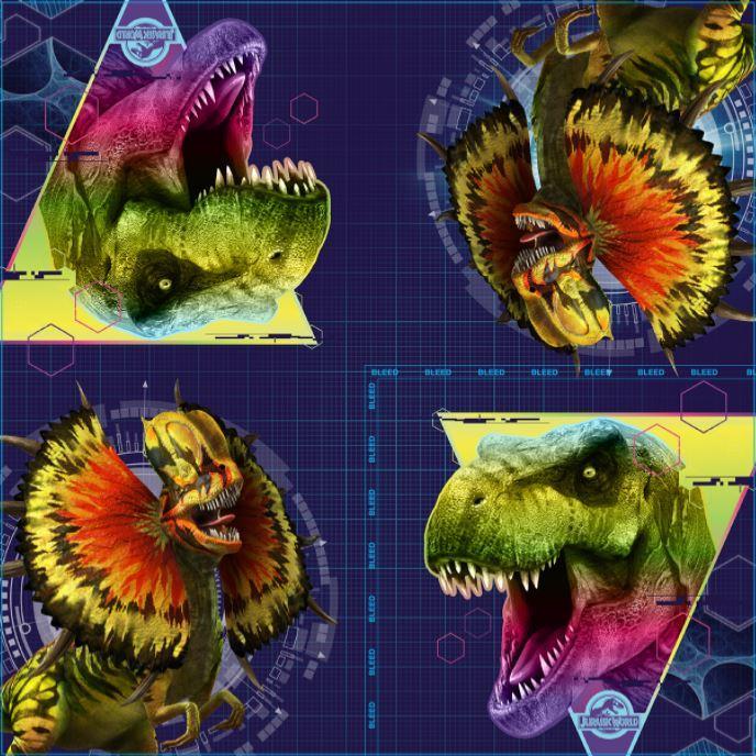 Dinosaur Lunch Napkins