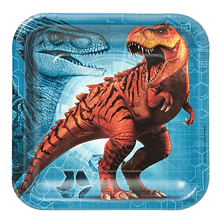 Dinosaur Lunch Plates