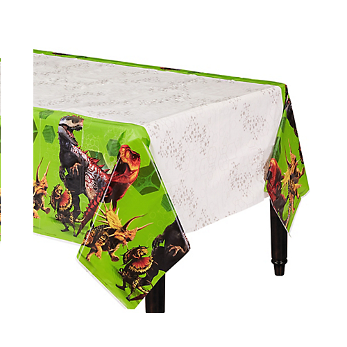 Jurassic World Plastic Table Cover