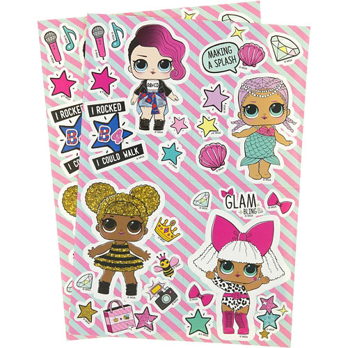 LOL Surprise Doll Stickers