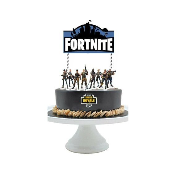 Fortnite Cake Topper