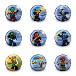 Ninjago Favor Badge