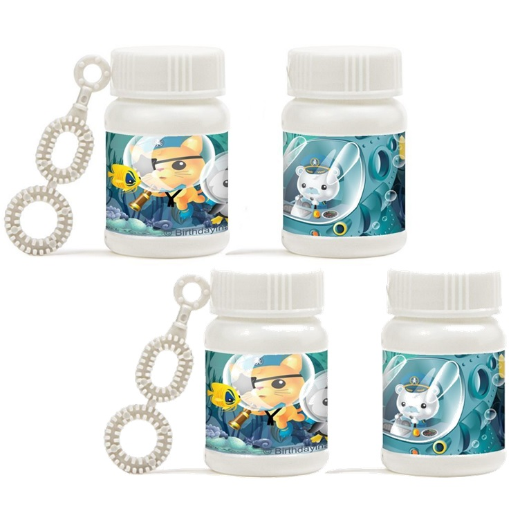 Octonauts Mini Bubble Favors