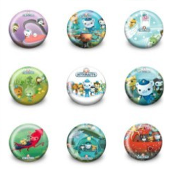 Octonauts Favor Badge
