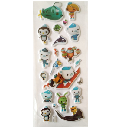 Octonauts Stickers