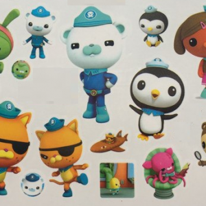 Octonauts Temporary Tattoos