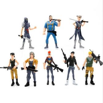 Fortnite Plastic Figurines