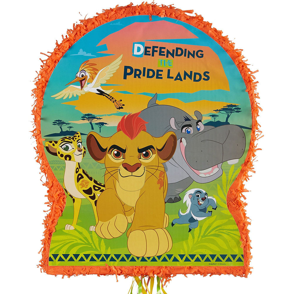 Lion Guard Pull String Pinata