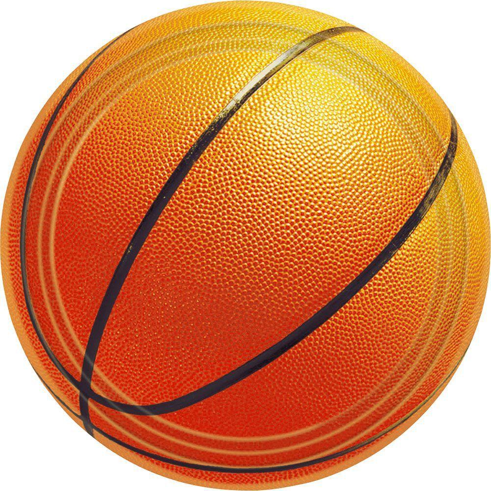 Basketball Cake Plates