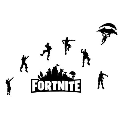 Fortnite Removable Wall Decal Sticker