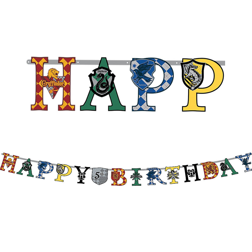 Harry Potter Birthday Banner