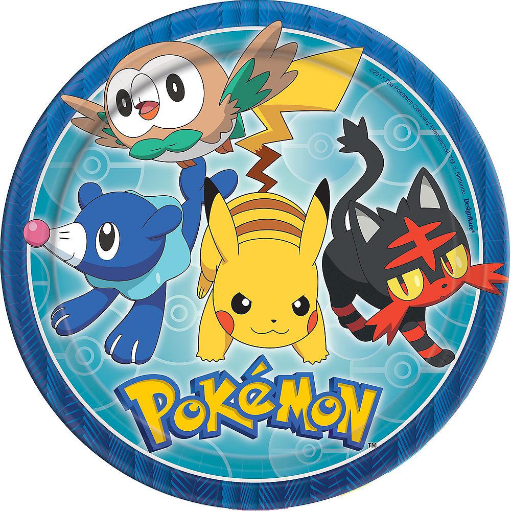 Pokemon Lunch Plates