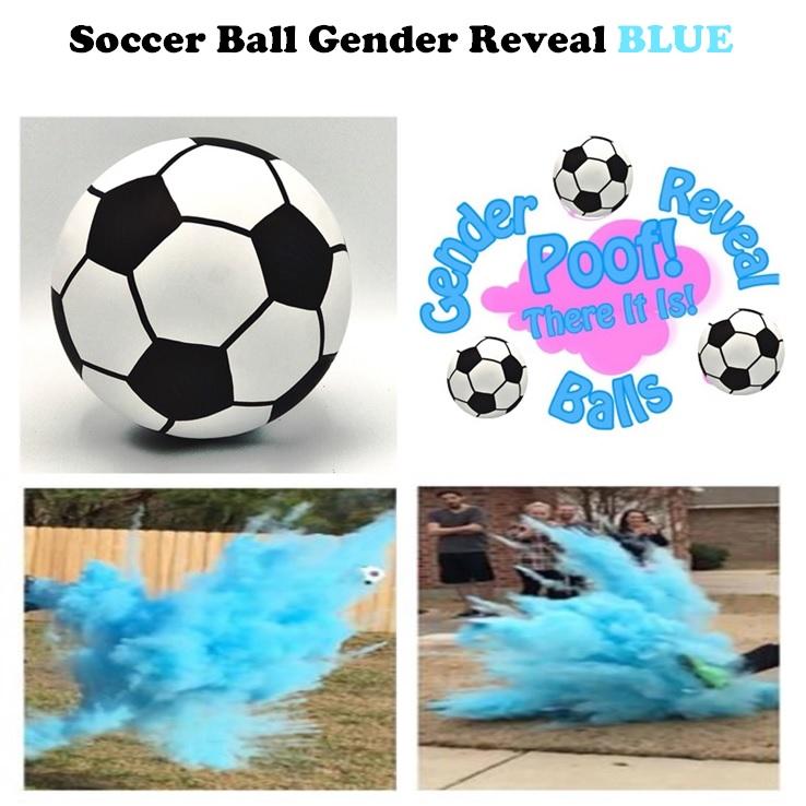 Soccer Ball Gender Reveal