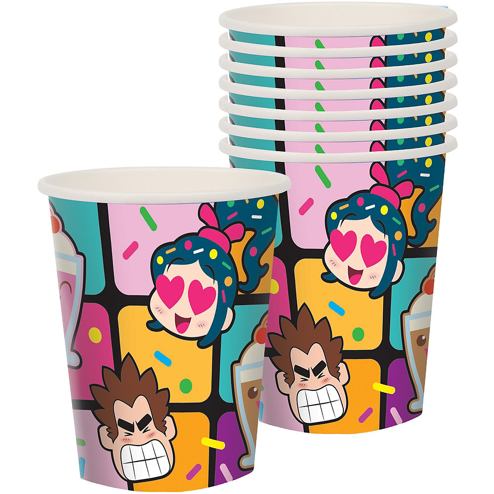 Wreck-It Ralph Paper Cups