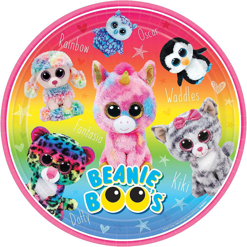 Beanie Boo's Plate