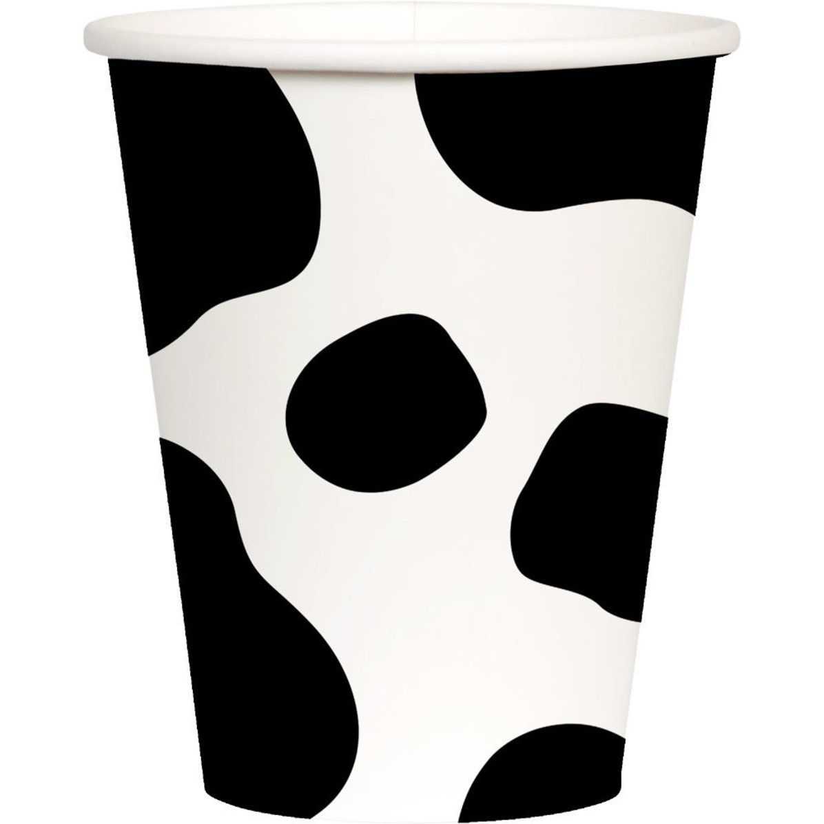 Cow Print Paper Cups