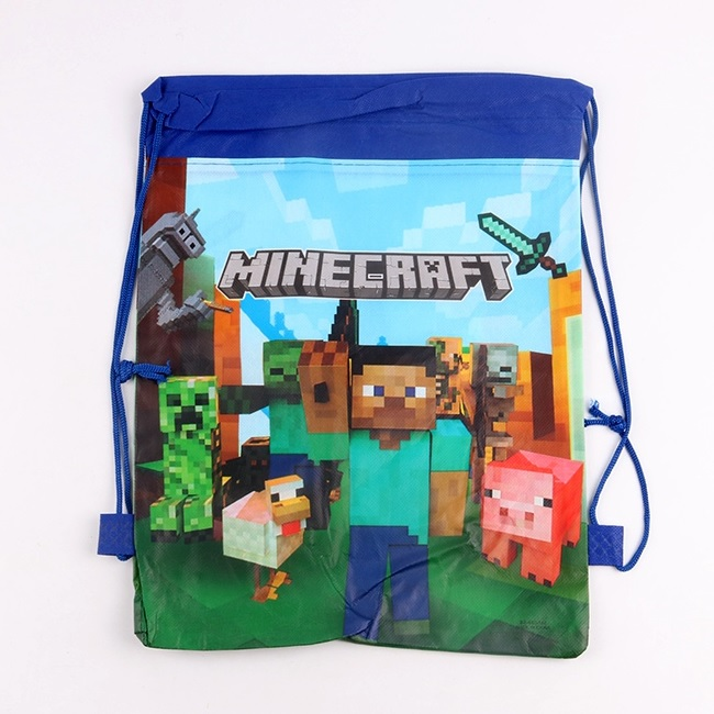Minecraft Drawstring Bag