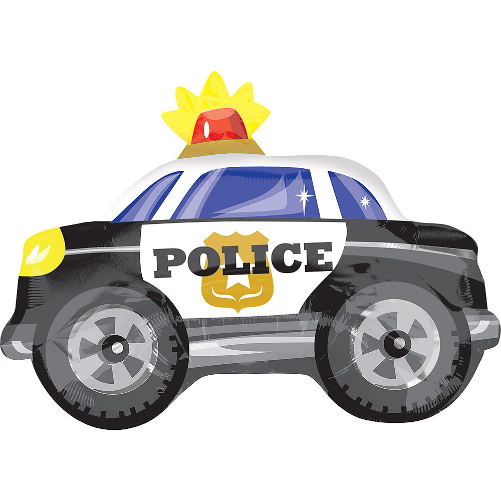 Police Car Balloon