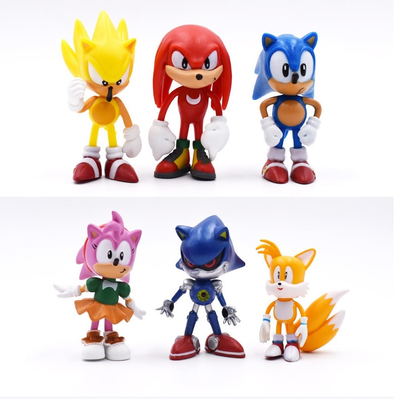 Sonic Plastic Figuries
