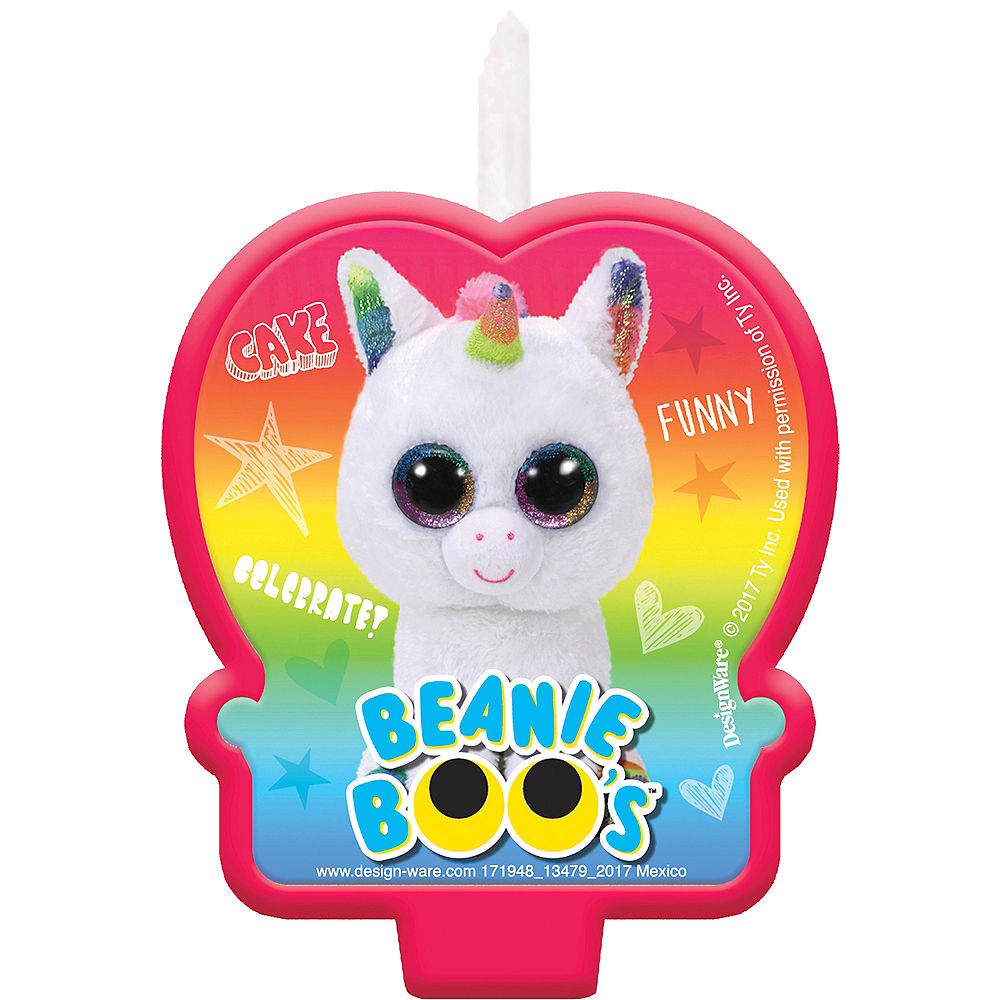 Beanie Boo's Party Candle