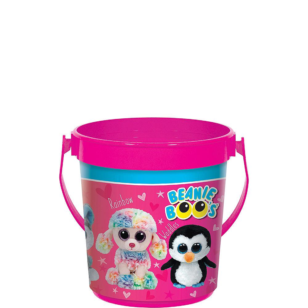 Beanie Boo's Plastic Favor Bucket