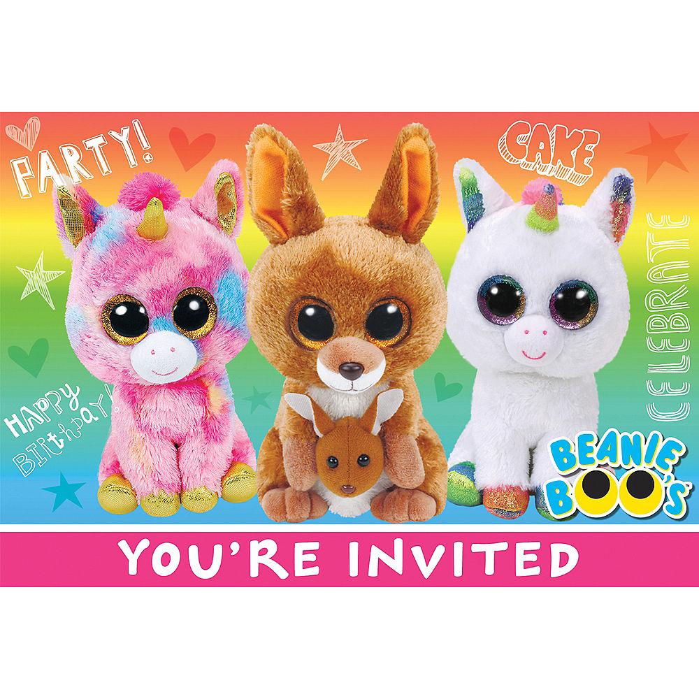 Beanie Boo's Invites