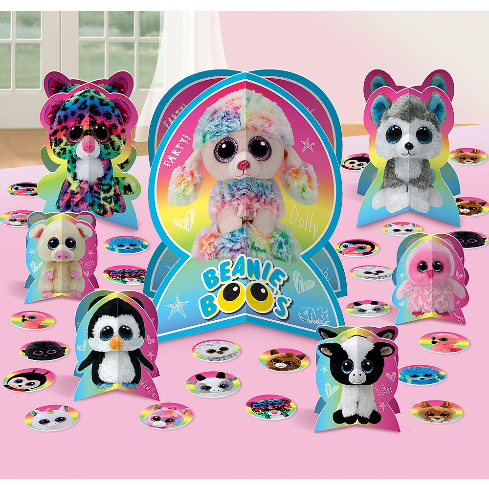 Beanie Boo's Table Decorating Kit 31pc