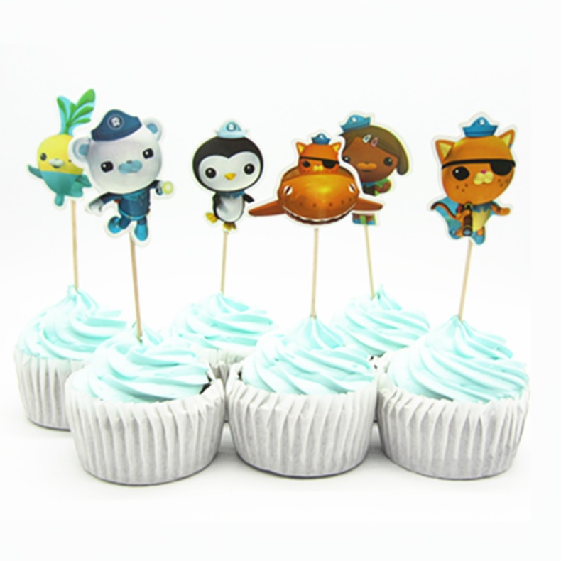 Octonauts Cupcake Topper Picks