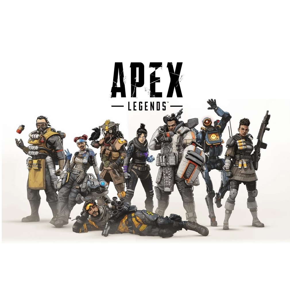 Apex Legends A4 Cake Icing Image