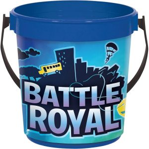 Battle Royal Plastic Favor Bucket