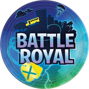 Battle Royal 9in Plates