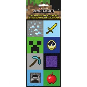 Minecraft Favor Stickers