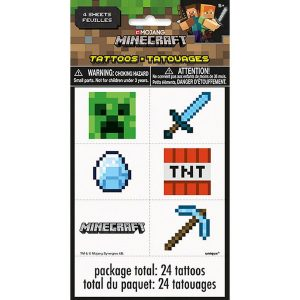 Minecraft Tattoo