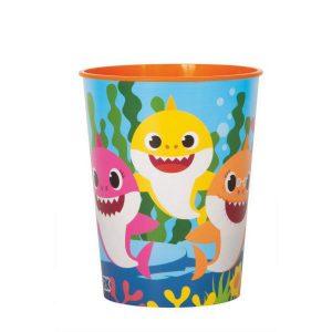 Baby Shark Plastic Favor Cup