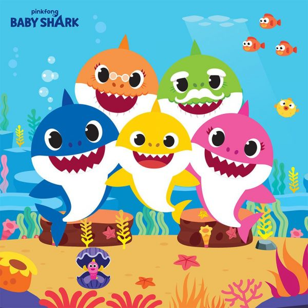 Baby Shark Lunch Napkins