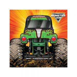 Monster Jam Grave Digger Beverage Napkins
