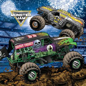 Monster Jam Grave Digger Lunch Napkins