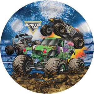 Monster Jam Grave Digger Lunch Plates