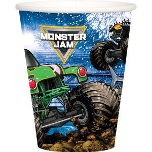 Monster Jam Grave Digger Paper Cups