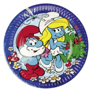 Smurfs Party Plates