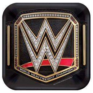 WWE Dessert Plates