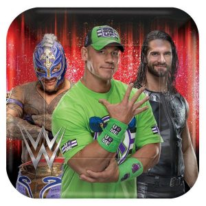 WWE Lunch Plates