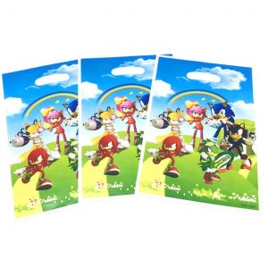 Sonic the Hedgehog Plastic Bags